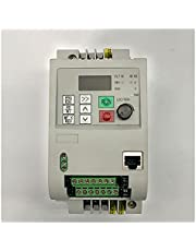 Inverter 0.75kw/1.5kw/2.2/ 4kw/5.5kw/ 7. 5kw 1 Phase Input and 3 Phase Output Frequency Converter/Ac Motor Drive/VFD Variable Frequency Drive (Color : 220v 1.5kw)