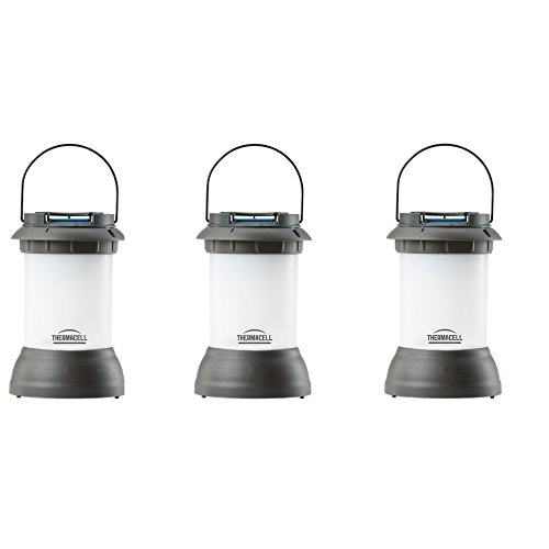 Thermacell Outdoor Mosquito Repeller plus Lantern, Bristol Decorative Bronze, 3-Pack by Thermacell