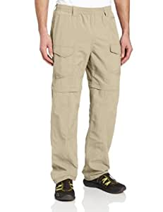 Columbia Men's Aruba IV Pant with 32-Inch Inseam, Fossil, Small