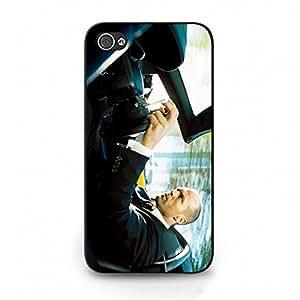 Hot Design Jason Statham Phone Case Cover For Iphone 4/4S Jason Statham Luxury Pattern