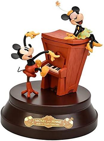 Disneyland Paris Mickey and Minnie Mouse - Caja Musical de 90 Aniversario, edición Limitada: Amazon.es: Hogar