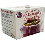 Norpro Bio-Degradable Compost Bags 50 count Pail/Bin Refill 6 Liters Each Bag