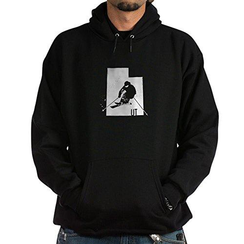 CafePress Ski Utah Pullover Hoodie, Classic & Comfortable Hooded Sweatshirt Black