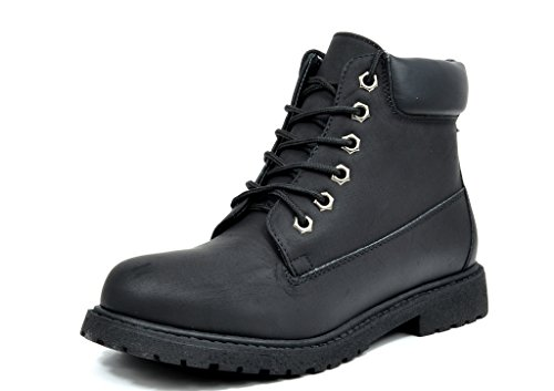 DREAM PAIRS TACOMA-1 Women's Fashion Casual 6 Inches Lace Up Boots Booties