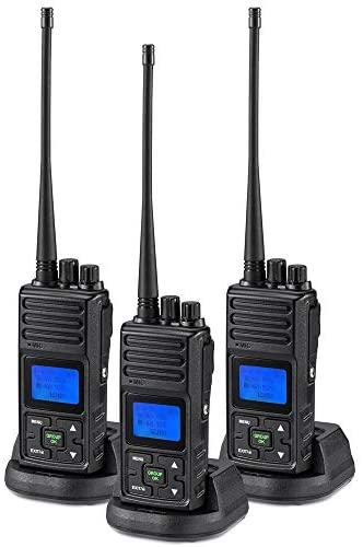 Retevis H-777 Walkie Talkie UHF 16CH CTCSS DCS Flashlight Scan 2 Way Radio 1 Pack