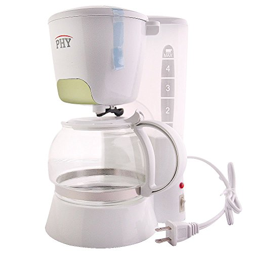 Gevalia Coffee Maker Cleaning Instructions : PHY 4-Cup/0.6L Switch Coffee Maker / Coffeemaker with Glass Carafe & Permanent Filter & Semi ...