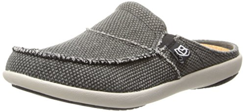 (Spenco Women's Siesta Slide Mule, Charcoal Grey, 5 M US)