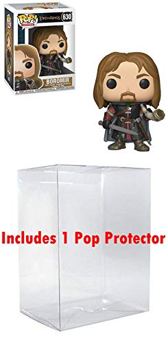 POP! Funko Lord of The Rings: Boromir w/ Horn - Vinyl Figure (Bundled Box Protector CASE)