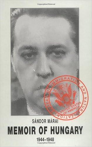 Book Memoir of Hungary
