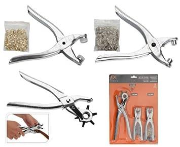 Perforadora giratoria, alicates y tenazas de guotai, 3 unidades: Amazon.es: Jardín