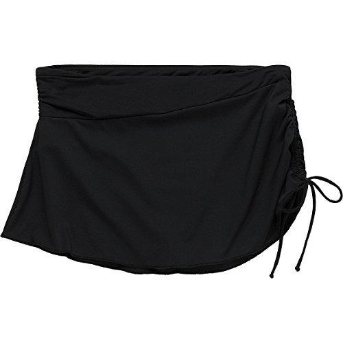CARVE Designs Women's Hoku Swim Skirt, Black, Large by CARVE