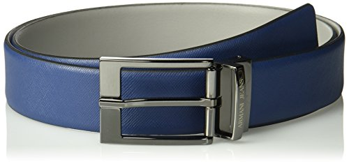 Armani-Jeans-Mens-Reversible-Safiano-Emobssed-Leather-Belt