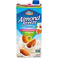 Almond Breeze Dairy Free Almondmilk, Unsweetened Original, 32 FL OZ