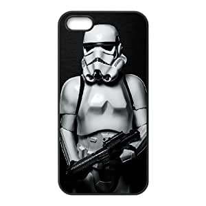 iPhone 4 4s Cell Phone Case Black Star Wars Storm Trooper Phone Case Cover For Boys Hard CZOIEQWMXN21494
