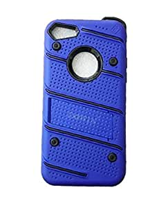 iPhone 7 & 8 hybrid shockproof rugged armor phone case for IPHONE 7 & 8 -Blue
