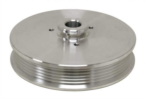 1979-93 FORD MUSTANG 5.0 BILLET POWER STEERING PULLEY - MACHINED (Aluminum Power Steering Pulley compare prices)