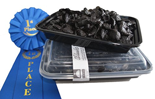 Price comparison product image Organic Award-Winning Black Garlic PEELED 1 lb. (30-47 BULBS!!) (Equal to 908 grams,  or 2 lbs,  of whole black garlic:No stems,  cores,  or peels in weight with PEELED): NO Sugar Water Added! NO GMOs