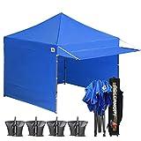 ABCCANOPY 10x10 EZ Pop up Canopy Tent Instant Shelter Commercial Portable Market Canopy