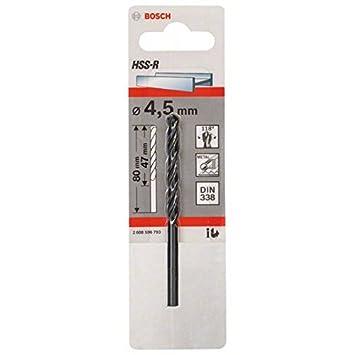 Bosch 2608596788 Metal Drill bits HSS-R, DIN 338, 3 mm