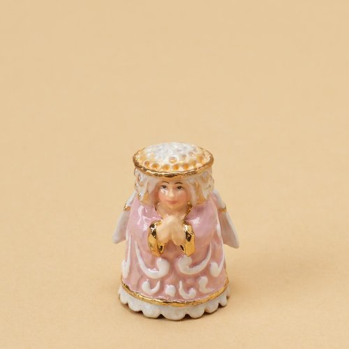 Jim Shore for Enesco Heartwood Creek Angel Thimble, 1-1/4-Inch by Enesco (Enesco Thimble)