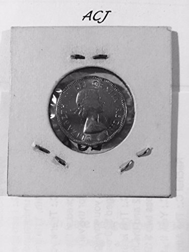 1954 Five (5) Cent Canadian Coin Nickel About ()