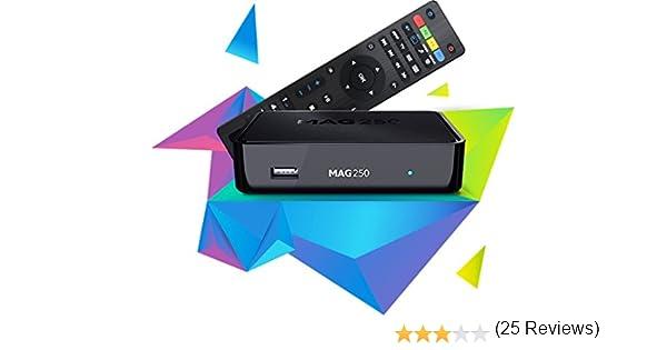 Mag 250decodificador IPTV HDTV 1080p HDMI HD TV Caja Streaming ...