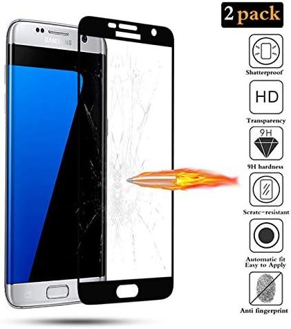 GoodcAcy[2-Pack Protector Pantalla Samsung Galaxy S7 Edge, Cristal ...