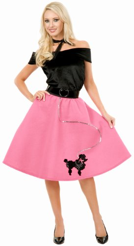 Poodle Skirt Adult Costume - (Cute 1950's Costumes)