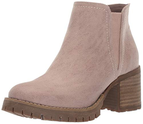 Carlos by Carlos Santana Women's GILL Ankle Boot, Rose, 6.5 Medium US