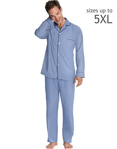 Hanes LSLLBCWM-LSLLBCWMB Mens Woven Pajamas Size Medium, Medium - Outlet Hanes Stores
