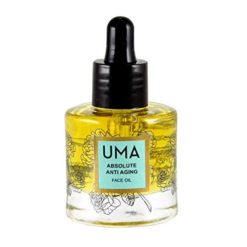 UMA Oils Absolute Anti-Aging Face Oil. Luxury Facial Oil Designed to Moisturize, Minimize Visible Signs of Aging, and Promote Healthier-Looking Skin. (1 fluid ounce)