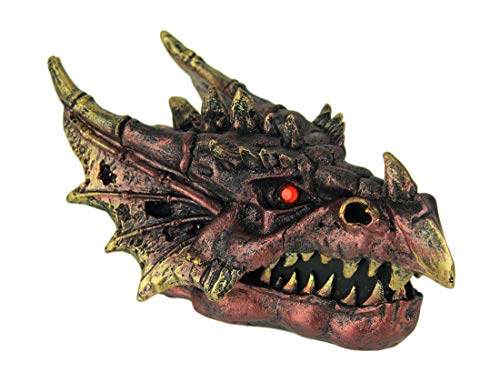 Everspring Red Fire Eyed Dragon Head Trinket Box
