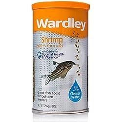 Wardley Shrimp Pellet Fish Food for Bottom and Algae Eaters - 9oz