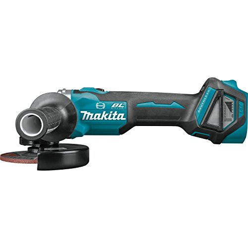 Makita XAG17ZU 18V LXT Lithium-Ion Brushless Cordless 4-1 2 5 Cut-Off Angle Grinder, with Electric Brake Aws, Tool Only