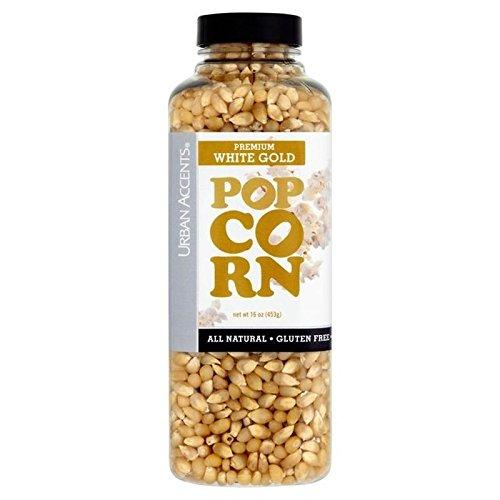 Urban Accents Premium White Gold Popcorn 453g - White Gold Popcorn