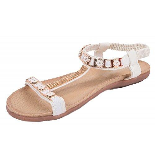 Primtex - Sandalias de vestir para mujer, multicolor (multicolor), 36