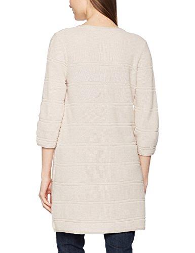 Olsen Cardigan Long Sleeves, Chaqueta para Mujer Beige (Mica Beige Melange 11050St)