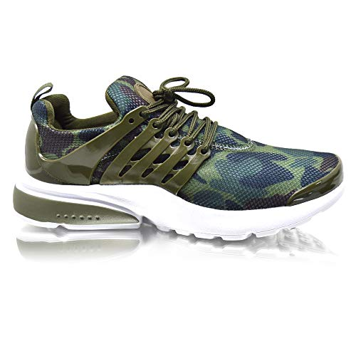 Size Xelay Purple Shock Running Military 8 Sports White Womens Fitness Ladies Absorbing Gym Pink Shoes Green Trainers 3 Camo 41HxqO4wr