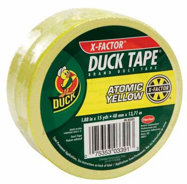 Duck Brand Color Duct Tape: 1.88 in. x 15 yds. (Atomic Yellow) ()