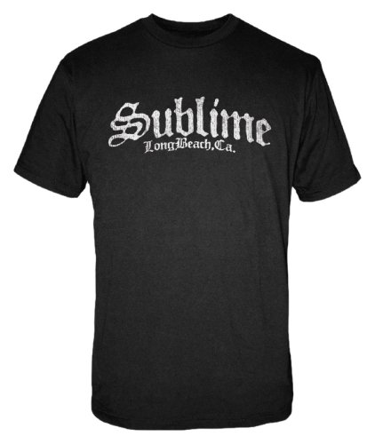a39426d24 FEA Men's Sublime Stamp Logo Men's T-Shirt, Black, Small   Amazon.com