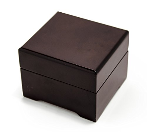 Enchanted Evening Jewelry (Contemporary Hi Gloss Trendy Modern 18 Note Music Jewelry Box - Some Enchanted Evening)