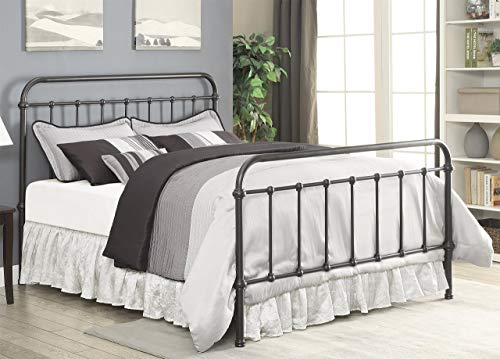 Coaster Home Furnishings Bed in Dark Bronze (King-87.25 in. L x 80.5 in. W x 51.5 in. H)