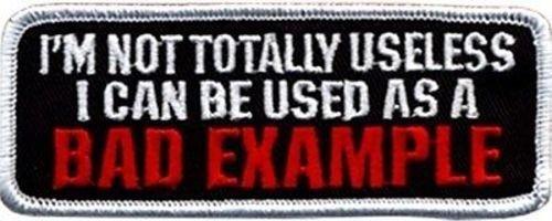 I'M NOT TOTALLY USELESS BAD EXAMPLE Biker Vest