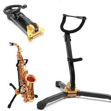 Dottiete Saxophone Stand Hamilton Tenor Black Clarinet Alto