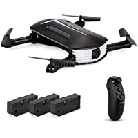 Sefter RC Helicopter JJR/C H37 Baby Elfie RC Quadcopter Headless Mode 4CH Drone Selfie Toys 3 Battery