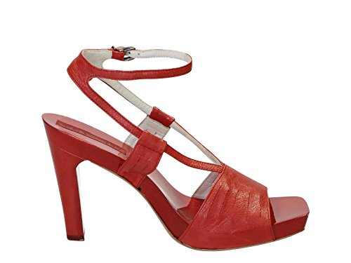 jil-sander-womens-867022570402-red-leather-sandals