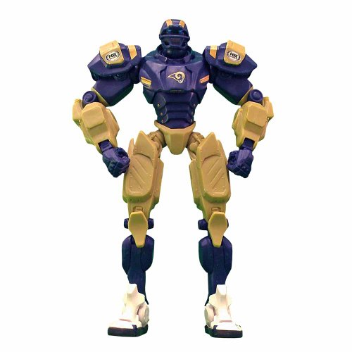 FanFave NFL Los Angeles Rams Fox Sports Team Robot, 10-inches ()