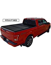Black Series Auto Hard Solid Tri-Fold Tonneau Cover