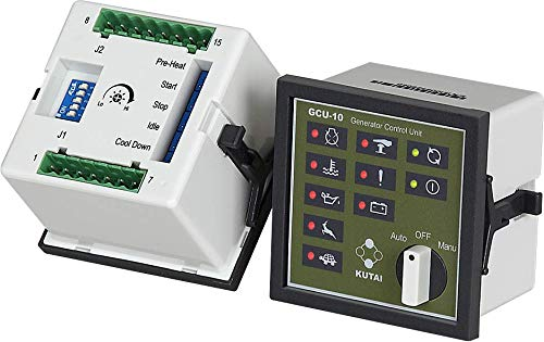 Thunder Parts Programmable Genset Controller | GCU-10 | Generator Control Unit | Original - 1 Year Warranty! by Thunder Parts