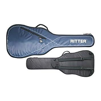 Ritter RGP2-CT 3/4 CLAS - Funda/estuche para guitarra acustica-clasica, con tejido repelente al agua, color azul: Amazon.es: Instrumentos musicales